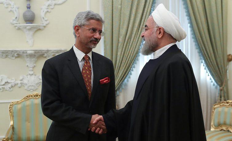 دیدار وزیر خارجه هند با رییس جمهوری