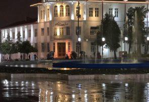شب بارانی، میدان شهرداری رشت