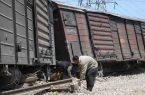 سومین حادثه ریلی طی یک هفته/ سانحه قطار باری در آپرین تلفات نداشت