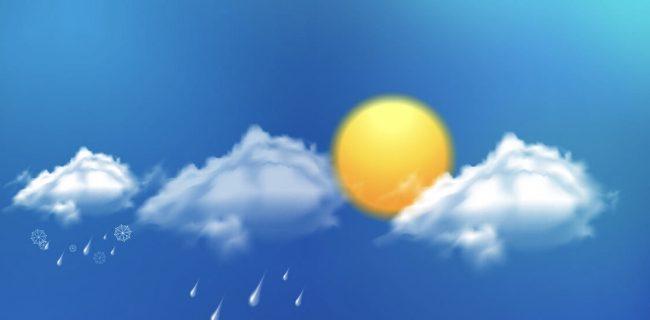 دمای هوا در اغلب نقاط کشور گرمتر میشود