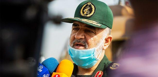 سرلشکر سلامی: تمام امکانات درمانی سپاه برای کمک به کادر درمان به میدان میآید/ انجام مداوم کمکهای مؤمنانه