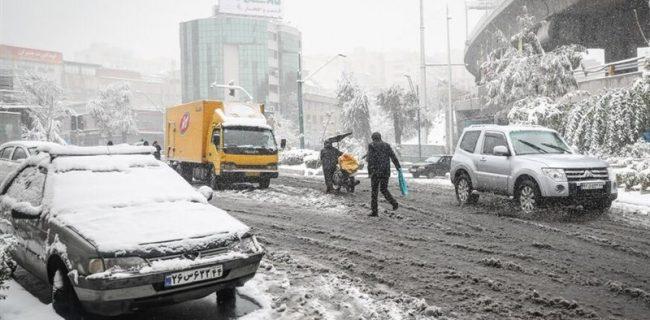 برف و باران کشور را فرا میگیرد/ کاهش ۱۸ درجهای دما در برخی استانها